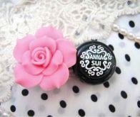 Контейнер для линз Rose flower