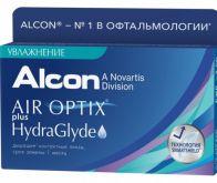 Air Optix plus HydraGlyde 3 Линзы
